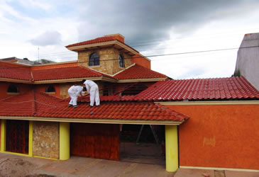 impermeabilización tejado urbanización servicios