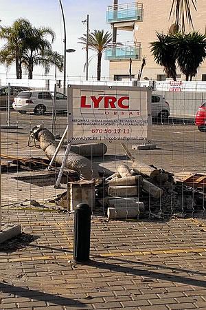 SERVICIO DE OBRA PÚBLICA DE LYRC OBRAS
